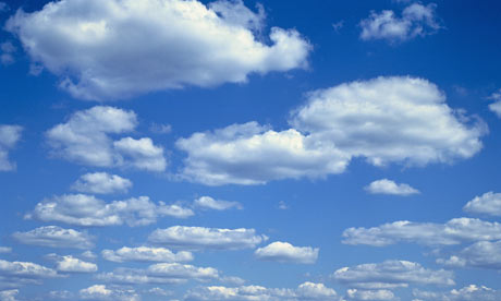 Clouds for opening shot effect